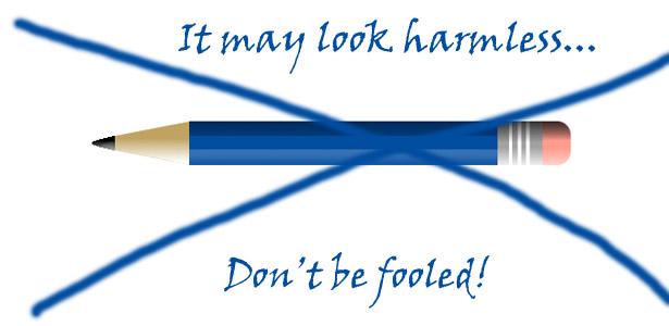 Ban pencils!