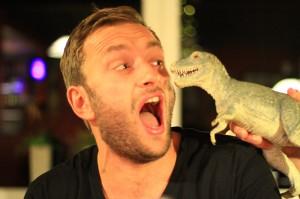 Me & a dinosaur